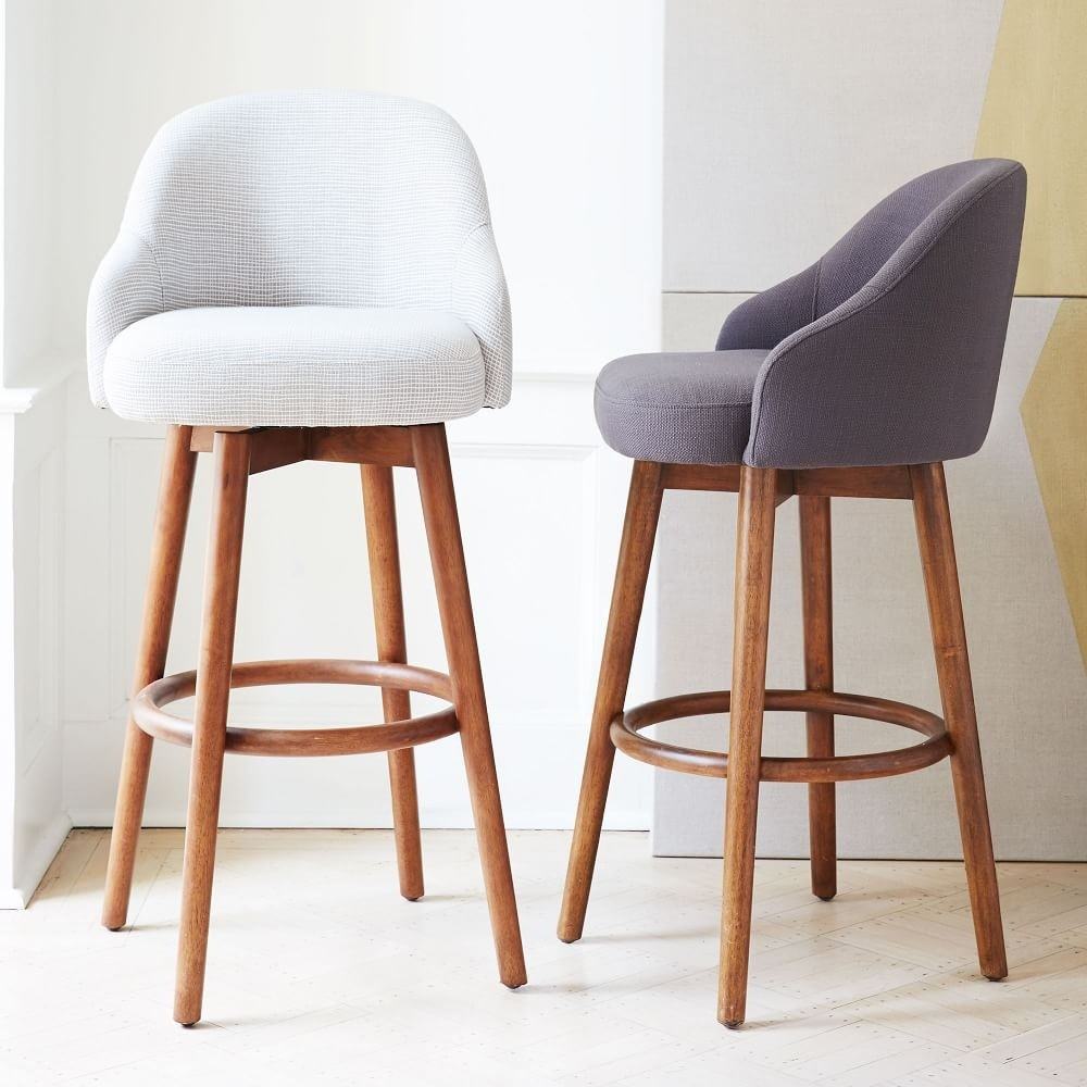 Simple Bar Chair Bar Stool Stylish Velvet Chair Lift High Chair Bar Stool Sturdy Construction Bar Furniture Furniture