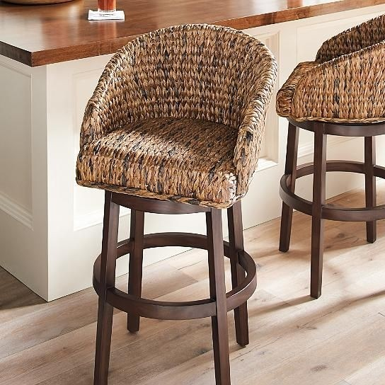 Superieur Seagrass Bar Stools   Foter