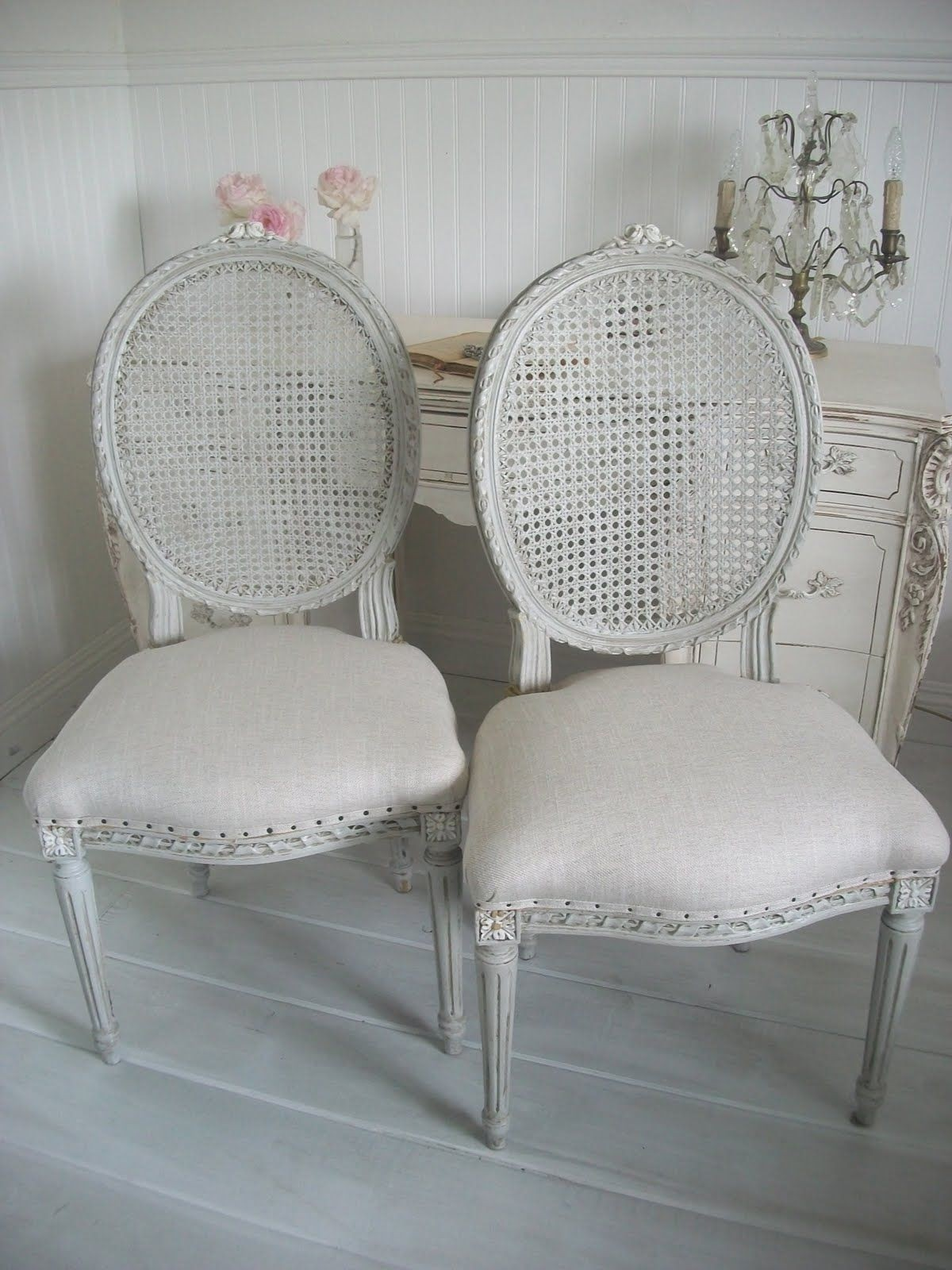 Set of 4 vintage french cane back dining 1 & French Cane Chairs - Foter