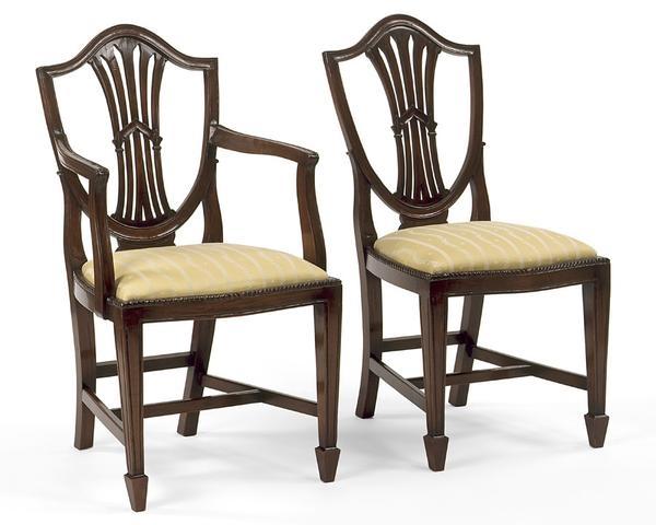 Genial Shield Back Chairs