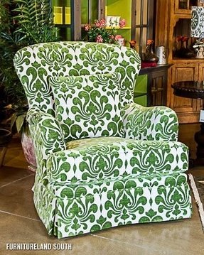 Skirted arm chair 4