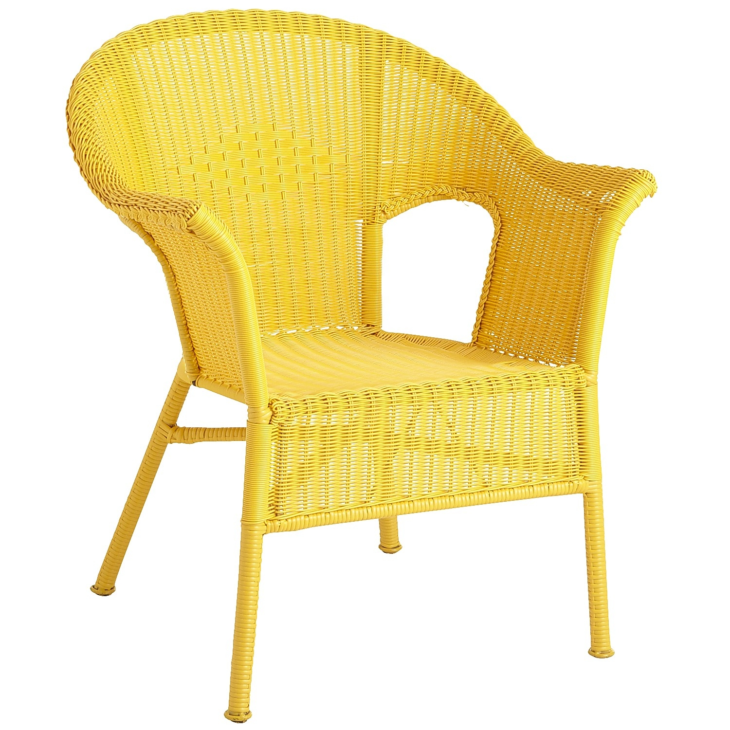 Stackable wicker chairs 6