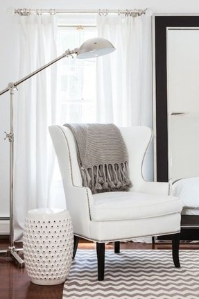 Black Wingback Chair Foter