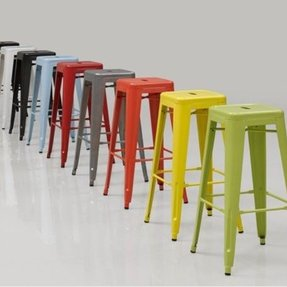 Tabouret 24 inch metal counter stools set of 2 20