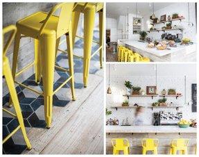 Awe Inspiring Yellow Bar Stools Ideas On Foter Andrewgaddart Wooden Chair Designs For Living Room Andrewgaddartcom