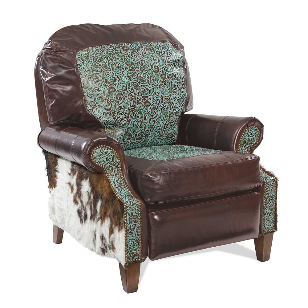 Ordinaire Turquoise Leather Chairs