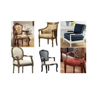 Pleasing Upholstered Carved Wood Accent Chair Ideas On Foter Unemploymentrelief Wooden Chair Designs For Living Room Unemploymentrelieforg