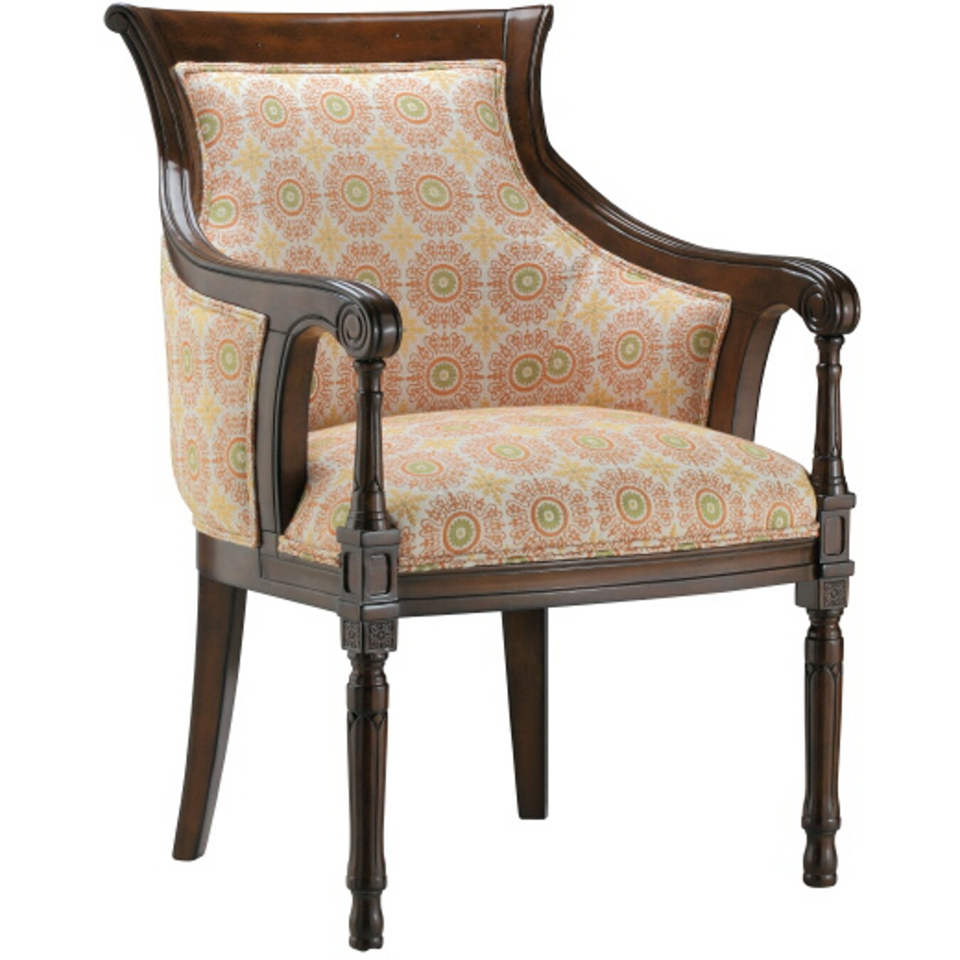 Uptown glamour ondine arm chair