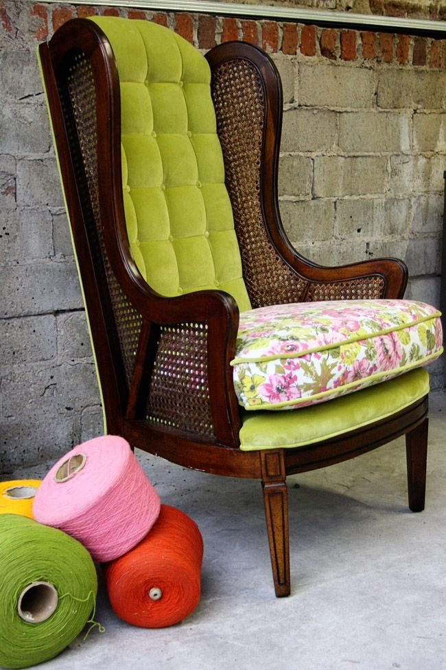Ordinaire Vintage High Back Chair B Real Happy
