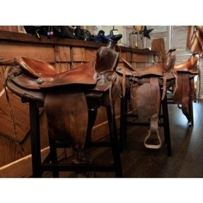 Saddle Bar Stool Cover