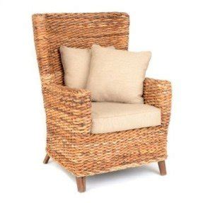 Exceptional Wicker High Back Chair