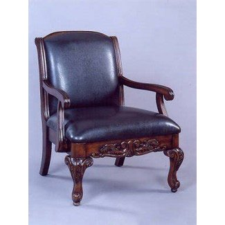 Upholstered Carved Wood Accent Chair Ideas On Foter