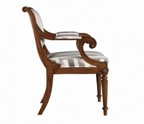 Wood classic arm chairs