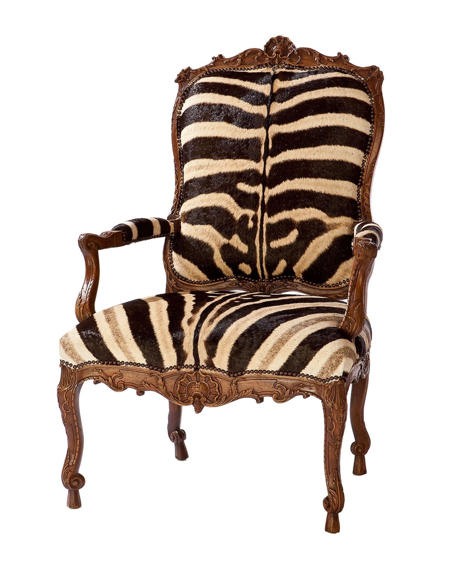Incroyable Zebra Arm Chairs