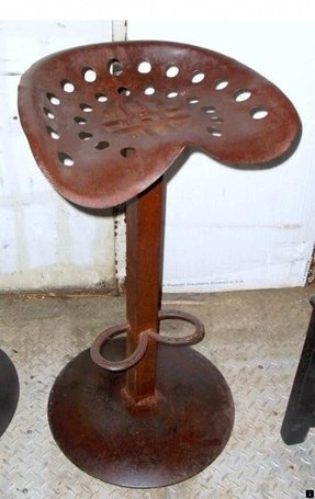 Antique Stools Tractor Seat