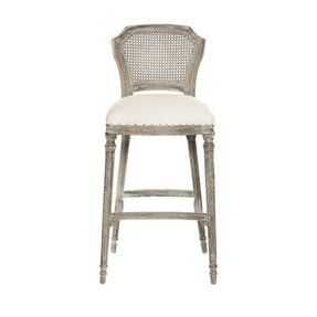 Cane back bar stool 1