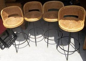 Enjoyable Cane Bar Stools Ideas On Foter Gmtry Best Dining Table And Chair Ideas Images Gmtryco