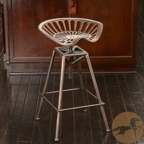 Christopher knight home chapman saddle copper barstool 1