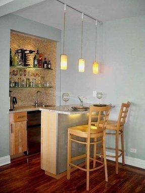Corner Mini Bar