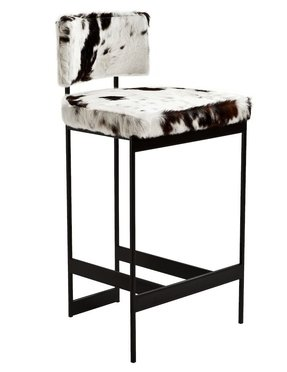 Pleasing Cowhide Bar Stools Ideas On Foter Dailytribune Chair Design For Home Dailytribuneorg