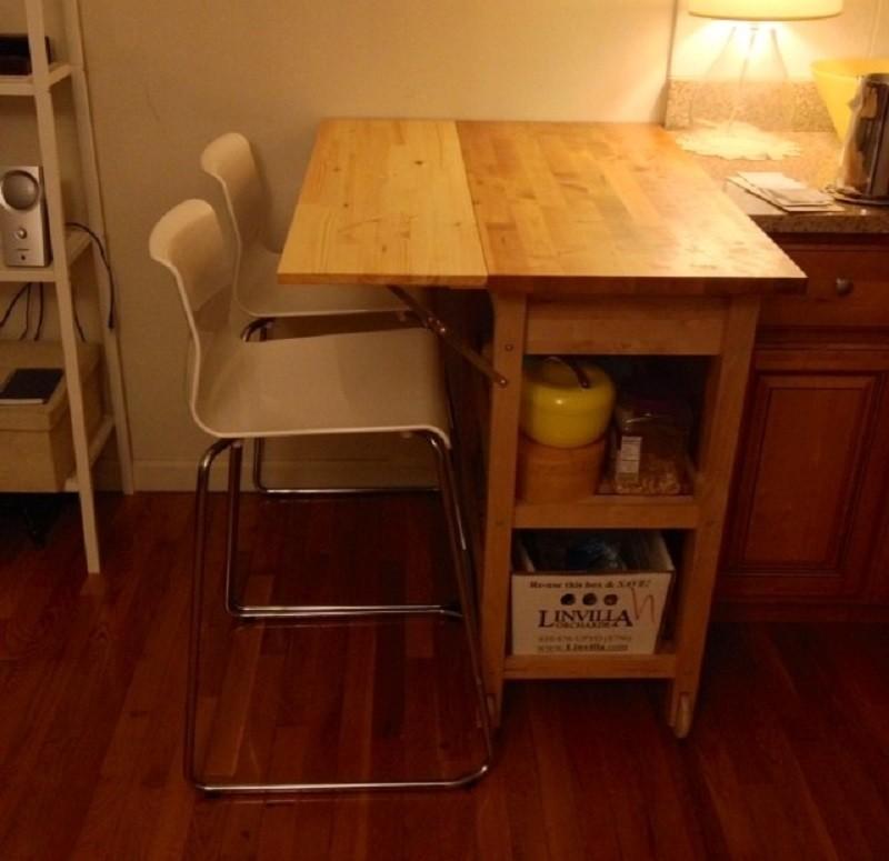 Drop Leaf Kitchen Island Table