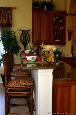 Granite kitchen island table