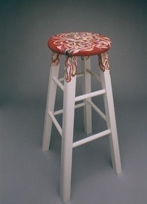 Hand Painted Bar Stools Foter