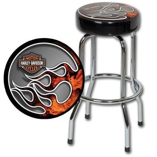 Harley davidson bar stool 1