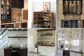 Perfect Living Room Bar Cabinet Pictures