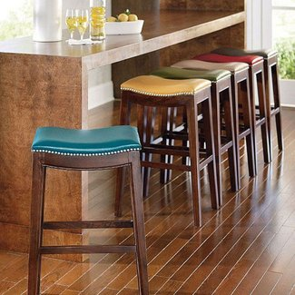 Low Back Counter Height Bar Stools