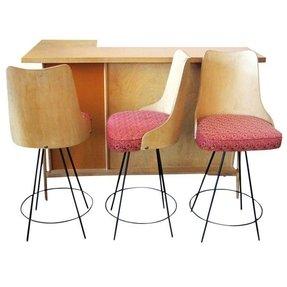 Mid Century Bar Table RevolutionHR - Mid century modern pub table