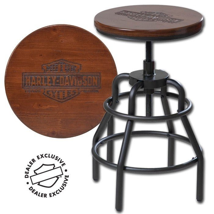 Superieur Harley Davidson Bar Stools 5. Motorcycle Bar Stools 2
