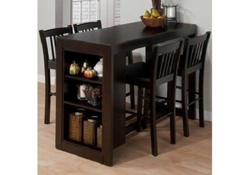Pub style tables and chairs  sc 1 st  Foter & Tall Pub Table And Chairs - Foter