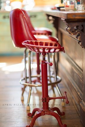 Old Style Bar Stool Foter