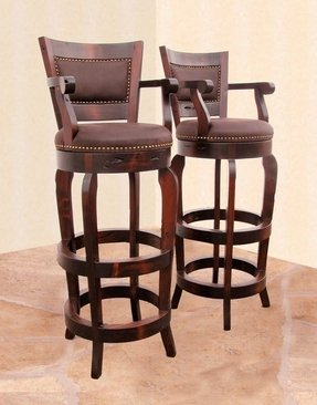 Marvelous Solid Wood Swivel Bar Stools Ideas On Foter Ibusinesslaw Wood Chair Design Ideas Ibusinesslaworg
