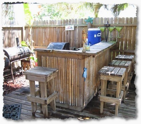 tiki bar stools ideas on foter rh foter com Small Outdoor Bar for Sale Floating Tiki Bar for Sale