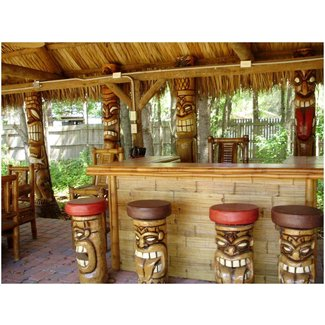 Excellent Tiki Bar Stools Ideas On Foter Gmtry Best Dining Table And Chair Ideas Images Gmtryco