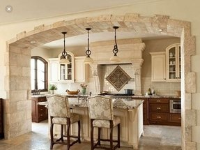 Tuscan bar stools kitchen