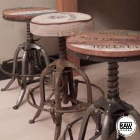 Antique bar stools