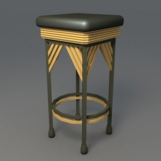 Pleasant Art Deco Barstools Ideas On Foter Caraccident5 Cool Chair Designs And Ideas Caraccident5Info