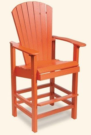 Bar Height Adirondack Chairs