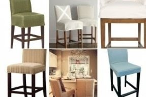 Bar Stool Slipcover Foter