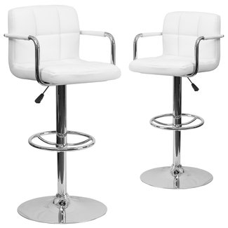 Bar stools with backs and arms