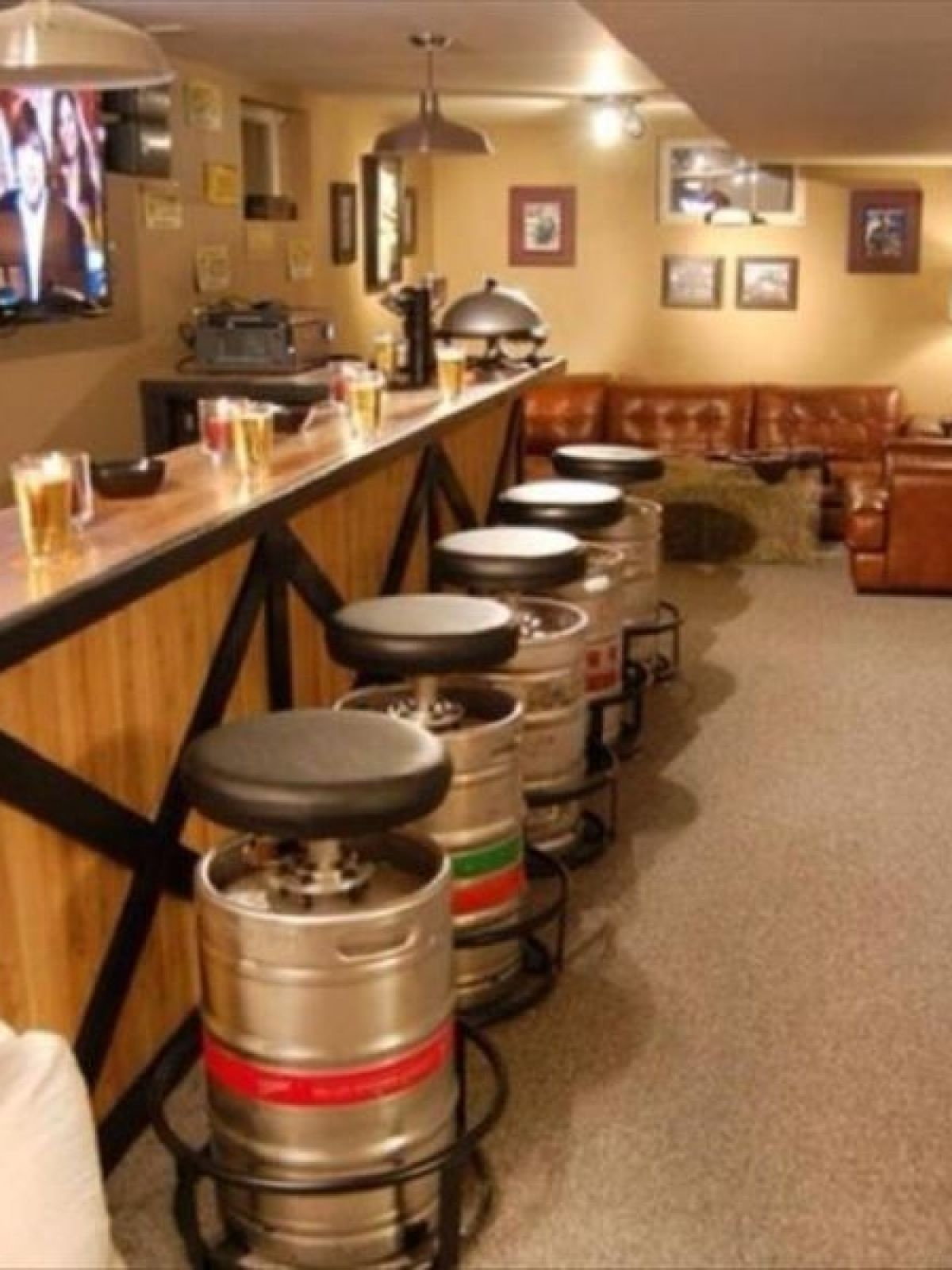 Beer Bar Stool