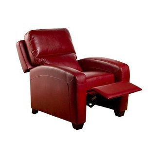Brice Club Recliner Color: Emerson Red