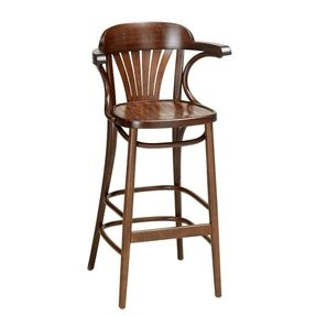 Comfortable bar stools with arms