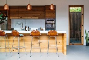 Copper barstools 1