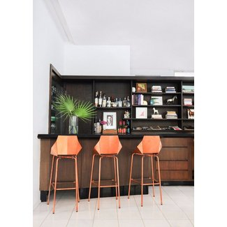 Copper barstools 4