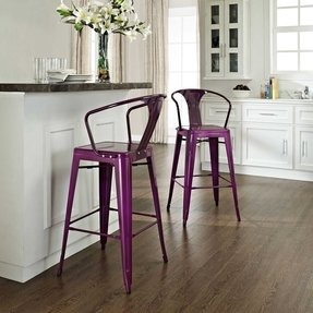Strange Purple Barstools Ideas On Foter Gmtry Best Dining Table And Chair Ideas Images Gmtryco