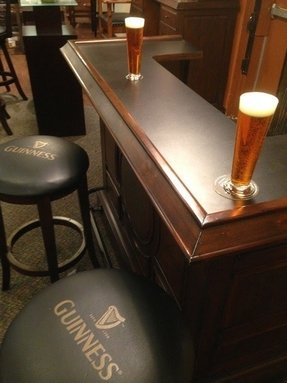 Guinness bar stool 1
